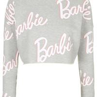 Barbie Cropped Sweater - Clothing