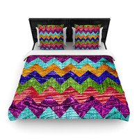 "Beth Engel ""Natural Flow"" Chevron Lightweight Duvet Cover"