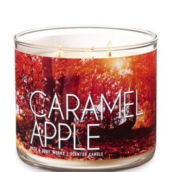 CARAMEL APPLE3-Wick Candle