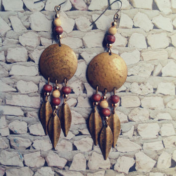 Vintage Tribal Earrings