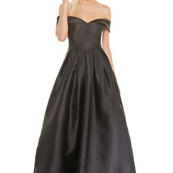 Marissa Off Shoulder Prom Formal Event Dress Gown