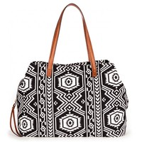 Printed Oversized Tote