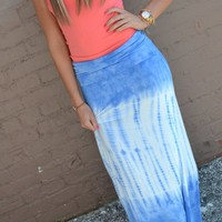 Piace Boutique - Bahama Mama Maxi Skirt in Bottoms