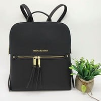 """Michael Kors"" Simple Fashion All-match Backpack MK Women Double Shoulder Bag"