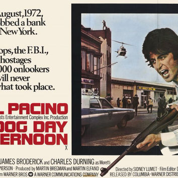 Dog Day Afternoon (UK) 11x17 Movie Poster (1975)