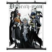 "D. Gray-Man Anime Fabric Wall Scroll Poster (16"" X 21"") Inches"
