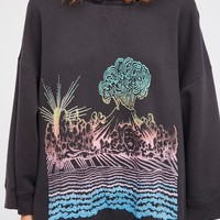 Free People Rising Sun Pullover