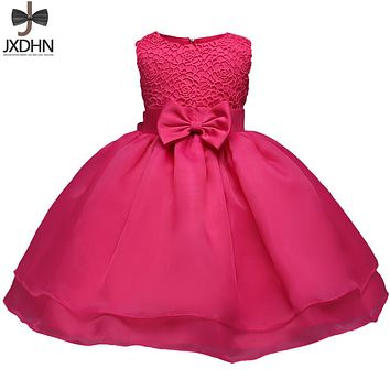 Newborn Baby Girl Clothes One Birthday Dress Toddler Christening Gowns Infant Party Dresses For Girl 6 12 18 24 Months Bebes