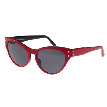 Red Allison Sunglasses
