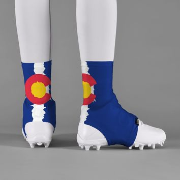 Colorado State Flag Spats / Cleat Covers