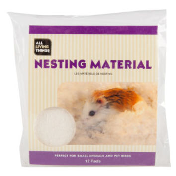 All Living Things® Fluff N' Snuggle Small Animal Nesting Material | Bedding | PetSmart