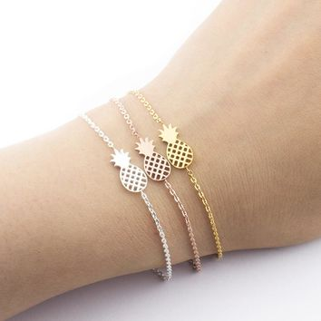 Trendy fun Pineapple shaped Bracelets