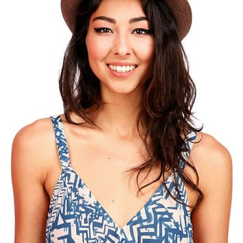Hemp Crochet Fedora