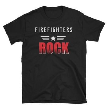Firefighters Rock, Funny Student & Job Appreciation Gift