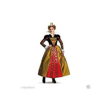 Incharacter Alice In Wonderland Queen Of Hearts Costume Medium