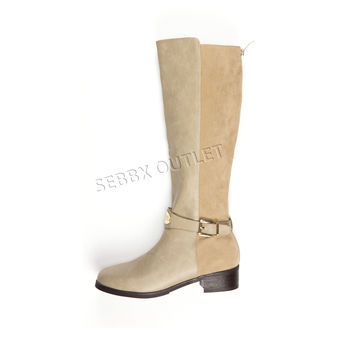 Guess Fashion Riding Boots Haylee Taupe
