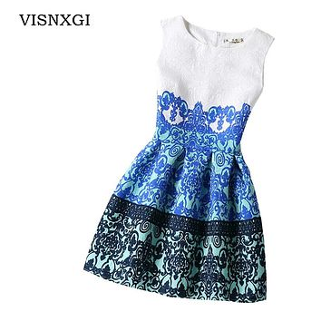 VISNXGI 2018 Bottoming Dresses Women Summer Style Dress Vintage Sexy Party Vestidos Plus Size Female Dress Boho Clothing Bodycon