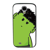 Tilted Animated Hulk TPU Soft Shell Jelly Silicone Case for Samsung Galaxy S4