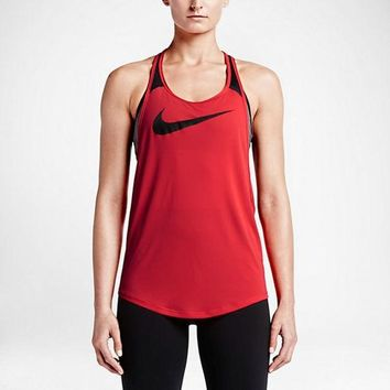 ESBON Nike Women's Running Tank Tops (Back Breathable Mesh)
