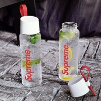 Supreme 500 ML Creative Glass cups with high transparency cups Best gift