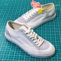 Vans Style 36 Decon Sf Old Skool White Sneakers Shoes - Best Online Sale