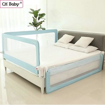 CH baby 70cm heighten bed safety barrier, bed fence of steel pipe, fit for general bed 150cm/180cm/200cm bed protective guard
