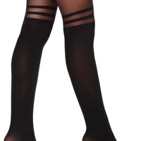 With Love From CA Knee High Tight Socks at PacSun.com