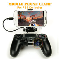 Mobile Phone Holder Smart Clip Clamp For Sony Playstation 4 PS4 Controller stand PS4 accessories
