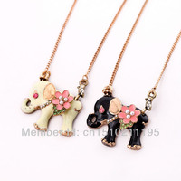 Valentine's Day Fashion Jewelry Lovely Elephant Necklace Necklaces & Pendants