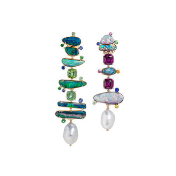Margot McKinney Jewelry Mixed Opal Drop Earrings