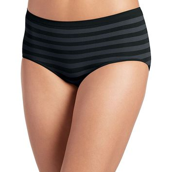 Jockey Women's Underwear Matte & Shine Seamfree Modern Brief