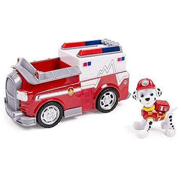 Paw Patrol Marshall's EMT Truck Vehicle and Figure