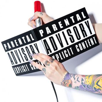 Parental Advisory Notebook