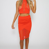 Carrie Crop - Red