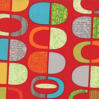 Mod Century, Ruby, by Jenn Ski for Moda Fabrics
