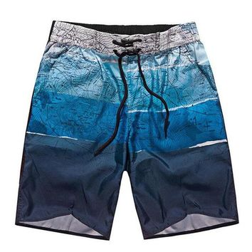 Men's Summer Beachwear Board Shorts with Drawstring 4 STLYES
