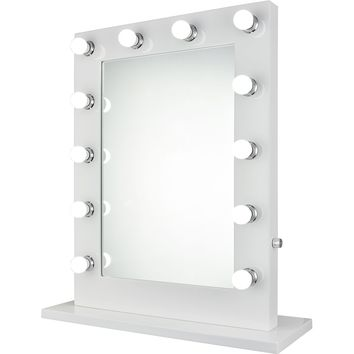 "Hollywood 5000K 27.5""x32.5"" Rectangle Vanity Mirror"