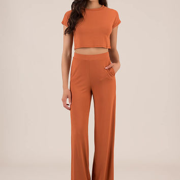 My Comfort Zone Top And Pant Set