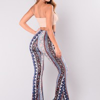 Silent Lucidity Pants - Navy