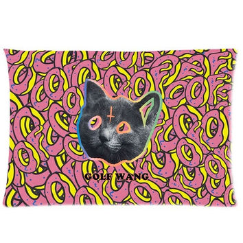 Odd Future (20x30) 50x75cm 2 Sided Sofa Bed Decorative All Over Print Cushion Cover OF Donut Golf Wang Cat Throw Pillow Case
