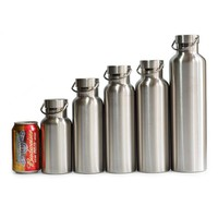 Full Stainless Steel Thermos Double Wall Vacuum Insulated Water Bottle Flask Mug Cup Tumbler BPA Free