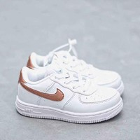 HCXX 19Aug 842 Nike Air Force 1 Kid Low Sneaker Casual Fashion Skateborad Shoes