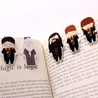 Harry Potter Bookmark Magnets