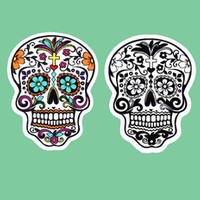 Tattoo Sugar Skull Sticker Decal