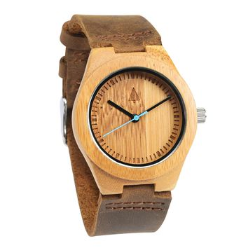 Wooden Watch // Boyd Small Blue