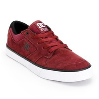 DC Nyjah Vulc S Suede Skate Shoes