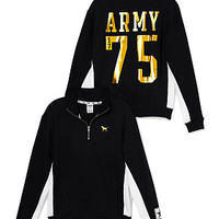 Army Boyfriend Half-Zip - PINK - Victoria's Secret