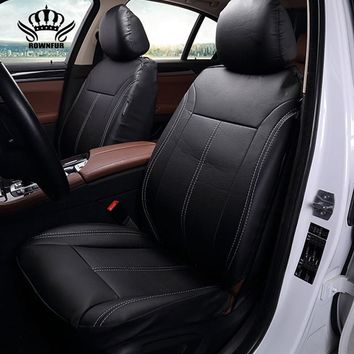 New Luxury PU Leather Auto Universal Car Seat Covers Automotive car seat cover for car lifan x60 for car lada vesta granta
