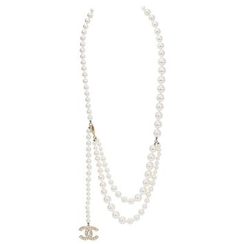 Chanel Iconic Pearl Necklace or Belt