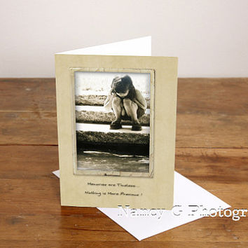 "Greeting Card, Stationary Card, Blank Card, Note Card, Mother's Day, 5""x7"", Card, Greeting Cards, Paper Goods, Nancy G"